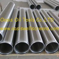 Quality Oasis factory supplies all-welded stainless steel 316L sand control johnson screens pipe for sale