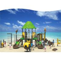 Buy cheap Hot Galvanized Pipe Outdoor Playground Equipment For 3-15 Aged Kids 710*580*390cm Size from wholesalers