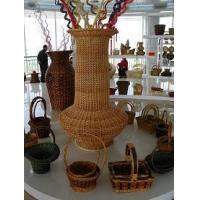 Quality Willow or Wicker Bottle for sale