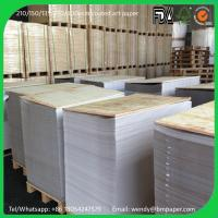 Wholesale High Gloss / Semi Gloss Paper C2S Art Paper 80g from china suppliers