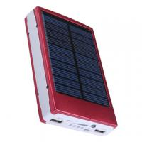 Wholesale USB Solar Power Bank 10400mAh External Battery Charger For IPhone Samsung from china suppliers