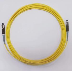 Wholesale Fiber Optic Jumper MU/UPC To MU/UPC Singlemode Simplex 2.0mm OFNR Cable from china suppliers