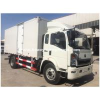 Quality Light Duty 290hp C700 Refrigerated Box Truck With ZF8118 Hydraulic Steering for sale