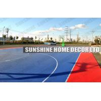 Wholesale PP Outdoor Sports Flooring , Table Tennis Court Floor With Embossed Vein from china suppliers