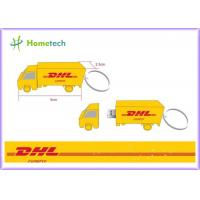 Wholesale Cartoon DHL Truck Customized USB Flash Drive with High Speed USB memory 4GB / 8GB from china suppliers