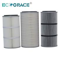 Wholesale Performance Industrial Cyclone Dust Collector Filter Cartridge / Silo Vent Filter from china suppliers
