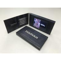 China New design 2.4 LCD  video business cards and brochures printed video card name card rechargeable video message card on sale