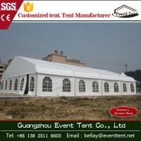 Wholesale Wedding / Event Marquee Curved Trade Show Tent 20 * 30m Hot - Dip Galvanized Steel from china suppliers