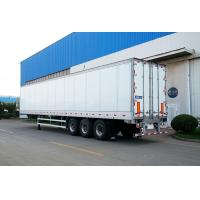 Wholesale Truck Refrigerated Tractor Trailer Reefer Custom Cargo Trailers High Wall Thickness from china suppliers