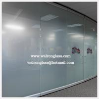 Wholesale China 10mm Clear/Frosted/Etched/Sandblast/Printed Glass room dividers from china suppliers