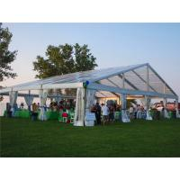 Wholesale Clear PVC Outdoor Wedding Tent Rooftop Outdoor Transparent Roof Wedding Tent TUV from china suppliers