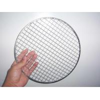 Wholesale Barbecue Crimped Wire Mesh Panel / Zinc Galvanized BBQ Wire Netting from china suppliers