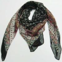 China Fancy Square Scarf on sale