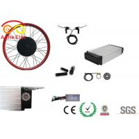 Wholesale 500 Watt Fat Tire Electric Bike Conversion Kit With Rear Rack Type Battery from china suppliers