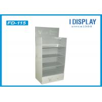 Wholesale White Retail Cardboard POP Displays / Exhibition Display Stands from china suppliers