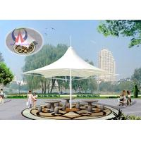 Wholesale Large Shade Umbrella Shape Tensile Structure Architecture Center Pole Support from china suppliers