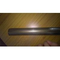 Wholesale Aluminum / Stainless Steel 304 Straight Perforated Metal Tube For Industry from china suppliers