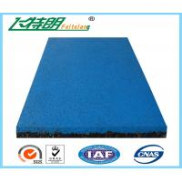 EPDM Granule Red safety pad / rubber floor mat  / gym rubber floor mat