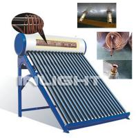Buy cheap Color Steel Pre - Heating Vacuum Tube Solar Water Heater With Copper Coil Pressurized System from wholesalers