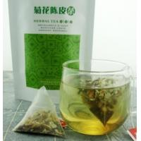 Wholesale natural chrysanthemum pericarpium citri reticulatae herbal tea triangle teabag from china suppliers