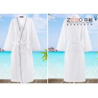 Wholesale Soft Plain Style Resort Hotel Style Bathrobes For Men 100% Cotton from china suppliers