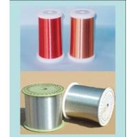 Quality 0.025mm - 4.0mm Silver Magnet Enameled Aluminum Wire For Generators / Transformers for sale