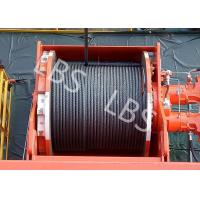 Wholesale Lebus Groove Offshore Tower Crane Winch Drum / Hydraulic Crane Winch from china suppliers