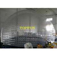 Wholesale Transparent PVC Large Inflatable Bubble Dome Tent For Exhibition And Party from china suppliers