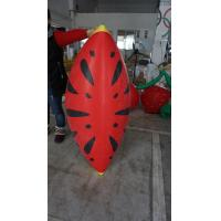 Wholesale Personalised Fruit Shaped Balloons , 1.2m Long Inflatable Watermelon Slicer from china suppliers