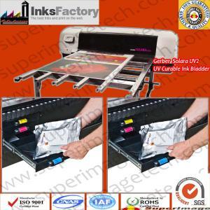 Buy cheap Gerber Solara UV2/Solara Ion 1L UV Curable Ink Pouches from wholesalers