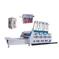 Wholesale 3 / 4 Color Flexo Printing Machine Carton Box Printing And Slotting Machine from china suppliers