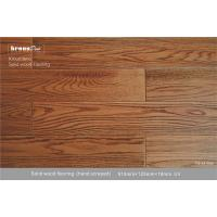 Wholesale Luxurious Robinia Antique Wood Flooring E0 910mm * 125mm * 18mm from china suppliers