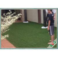 Wholesale V Shaped Green Outdoor Artificial Grass Comfortable Courtyard Artificial Grass Turf from china suppliers