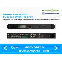 Wholesale Digital Satellite Receiver DVB-C DVB-S2 DVB-T2 Input  ASI IP output support CAM from china suppliers