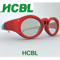 Wholesale Kid / Children Active Cinema 3D Glasses Red With PC Frame 1.6mm LCD Lens from china suppliers