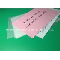 Wholesale A4 Size Thermal Lamination Film 216 x 303 mm Photo Laminating Pouches from china suppliers