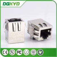 Wholesale Integrated 100M RJ45 Magnetics , Tab Down network rj45 connectors 1 Port from china suppliers