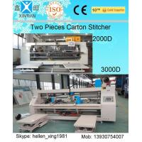Wholesale 3 Ply / 5 Ply / 7 Ply Paperboard Box Stitching Machine For Big Size Carton from china suppliers