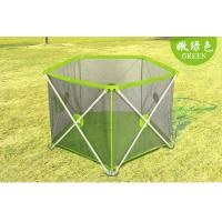 Wholesale Security Extra Large Baby Playpen Fence / Folding Child Play Yard Fence from china suppliers