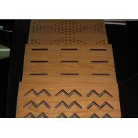 Wholesale Decorative Wooden MDF Acoustic Panel For Stadium Walls , Fire - Proof BT new pattern from china suppliers