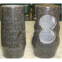 Buy cheap Granite ,marble stone vases &lamps HBV-514 from wholesalers