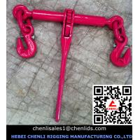 Wholesale European type ratchet load binder with safty pin,EN12195-3 from china suppliers