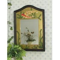Decorative bathroom wooden wall Mirror