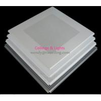 Wholesale Light Weight  Perforated Or Plain Project Used Lay In Metal Ceiling Tiles from china suppliers