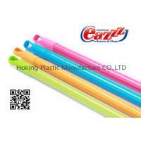 Wholesale 85cm American Thread PVC Coated Wooden Handle For Brooms , Dustpans from china suppliers