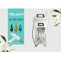 Wholesale 3 In 1 Multifunction E-light IPL RF ND Yag Laser For Hair Tattoo Wrinkle Removal Machine from china suppliers