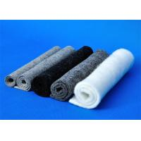 Quality Dark Grey Felt Fabric / Washable Felt Fabric Tear Resistant for sale