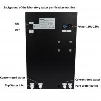 Quality Laboratory Reverse Osmosis Pure and Ultrapure Water Deionized Machine for sale