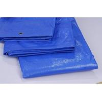 Wholesale 110gsm light weight high tensile blue pe tarpaulin sheet from china suppliers