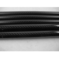 Quality Customized High Strength Round Full Carbon Fiber Rod Table-Rolled Process for sale